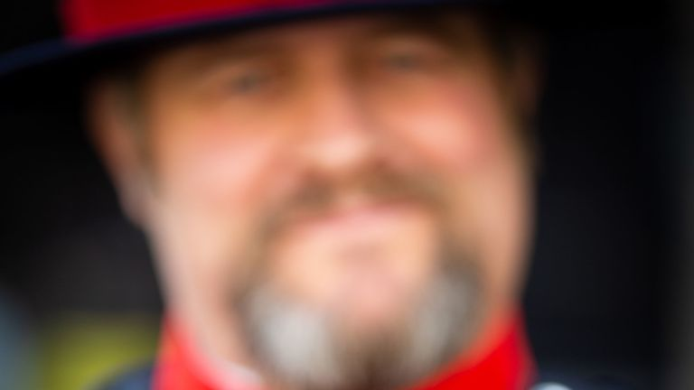 Tower of London Ravenmaster Chris Skaife said he felt 'like a proud father'