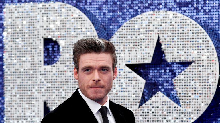 Richard Madden plays John Reid in the movie, who is Elton John's manager and former lover