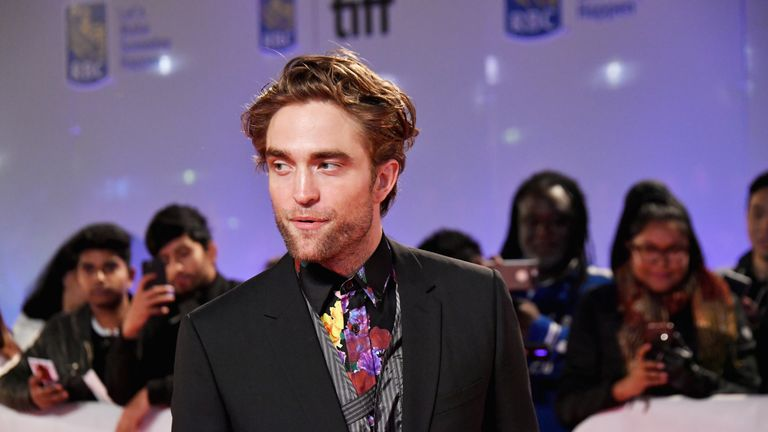 Pattinson made his name in the Twilight films