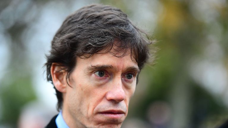 File photo dated 16/11/18 of Prisons Minister Rory Stewart who has sought to play down reports that convicted sex offenders have been housed in budget hotel chains upon their release from prison.