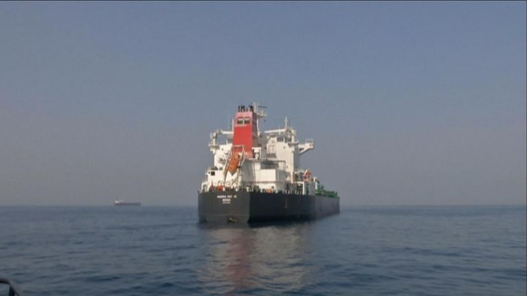Sabotage attacks on tankers in the Persian Gulf