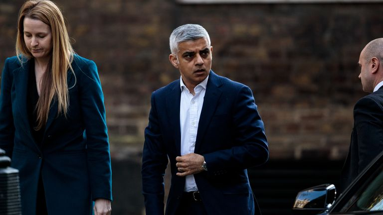 Sadiq Khan said the abuse had gone from 'name-calling, trolling and threats to terrorism'