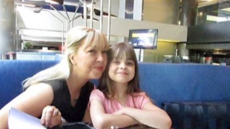 Lisa had been holding Saffie's hand when the bomb went off