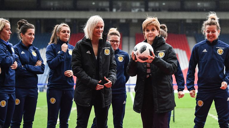 The Scotland women's team has qualified for the world cup