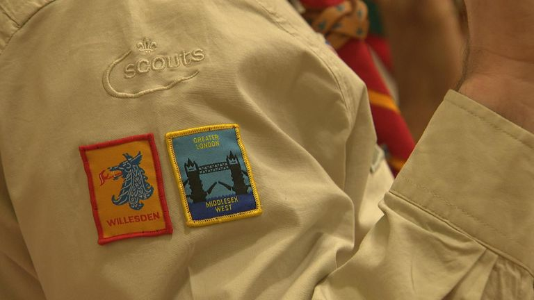 The Scouts are helping children in poorer areas