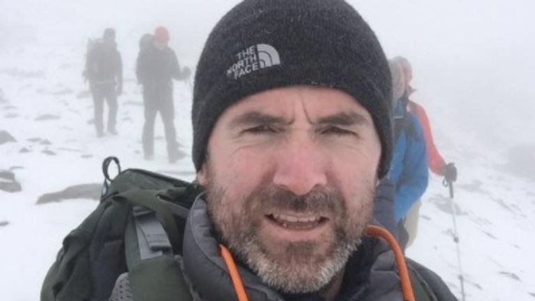 A search for Seamus Lawless was called off on Friday after he went missing last week. Pic: GoFundMe