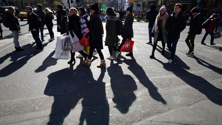 President Trump says US shoppers have not been adversely affected