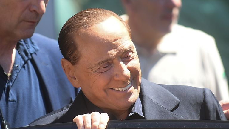 Silvio Berlusconi says he thought he had reached the end of the line