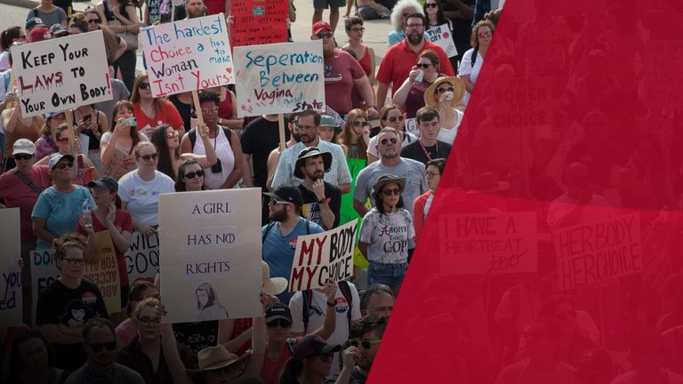 The decision in Alabama has been met with outrage and protests