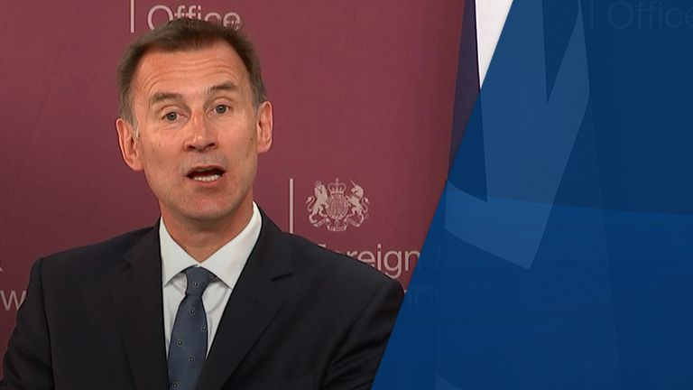 Jeremy Hunt may also throw his hat into the ring
