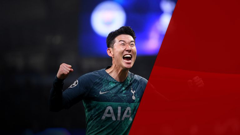 Son Heung-min put in great performances in both the Premier League and Champions League