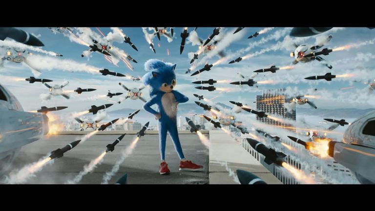 The way Sonic looks has had a backlash on Twitter. Pic: Paramount Pictures
