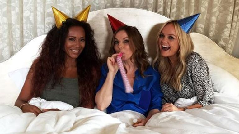 The Spice Girls rebranded as GEM in 2016, without Victoria Beckham and Melanie Chisholm