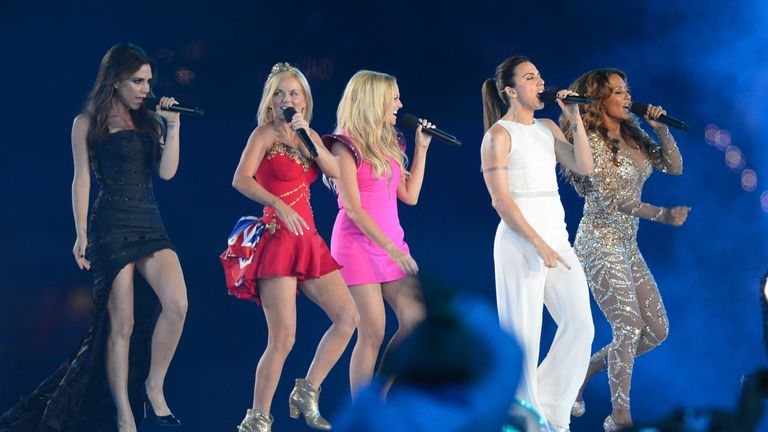Spice Girls at the Olympics London 2012