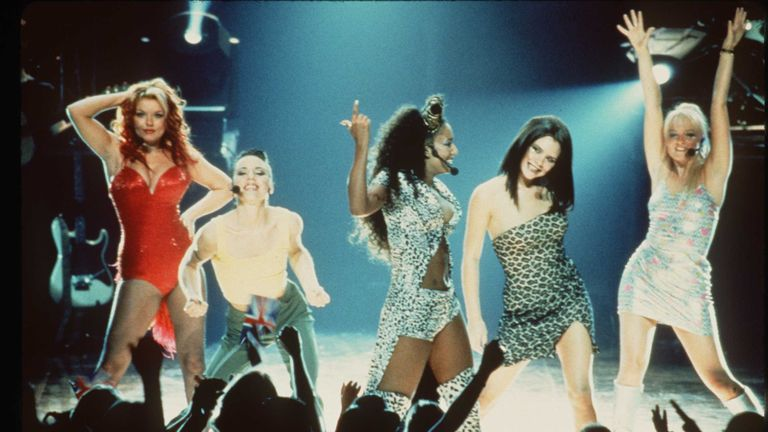 The Spice Girls in Spice World 1997