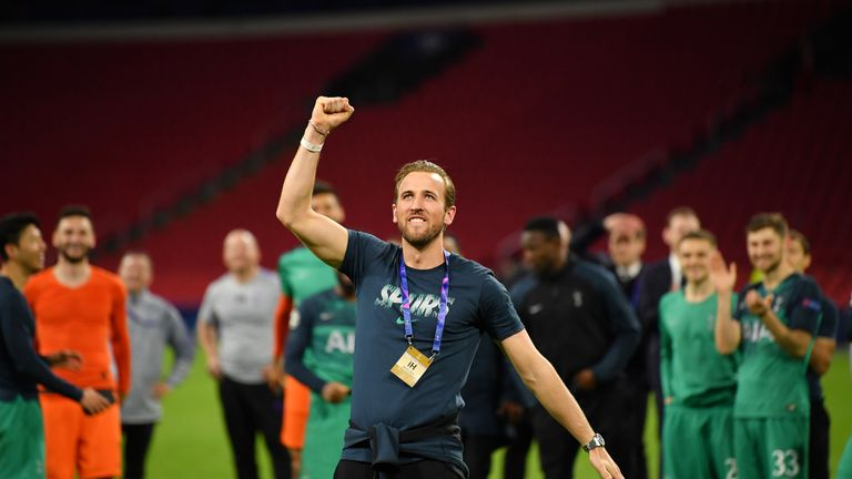 Life-long Spurs fan Harry Kane should be fit for the final