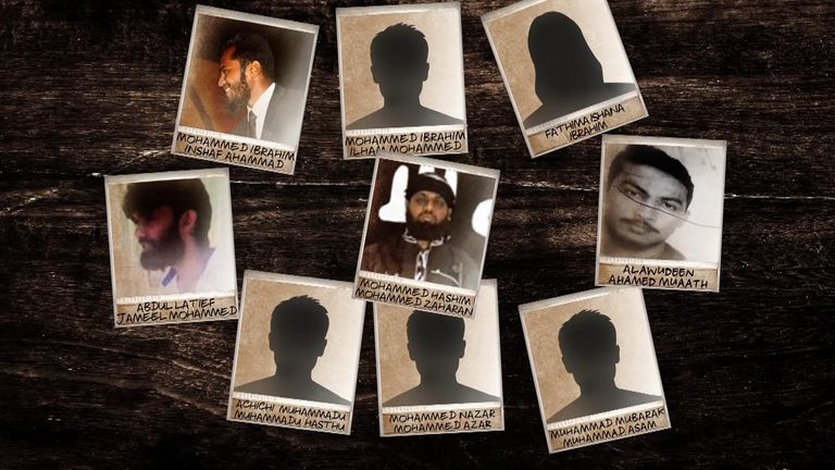 The suspected Sri Lanka bombers