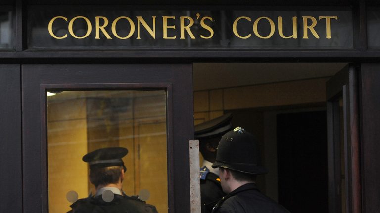 The inquest is being held at St Pancras Coroner's Court