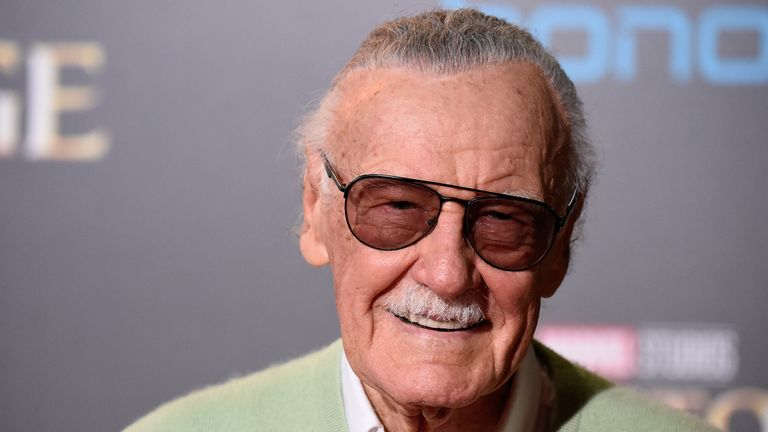 Stan Lee died in November 2018
