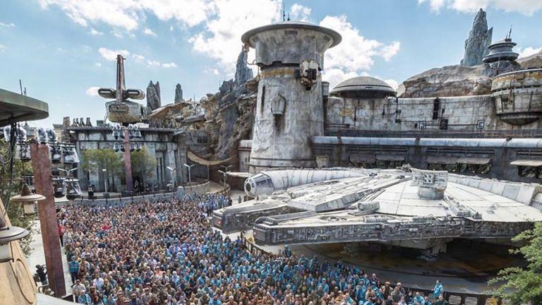 A galaxy not so far, far away: Disneyland prepares to open Star Wars universe