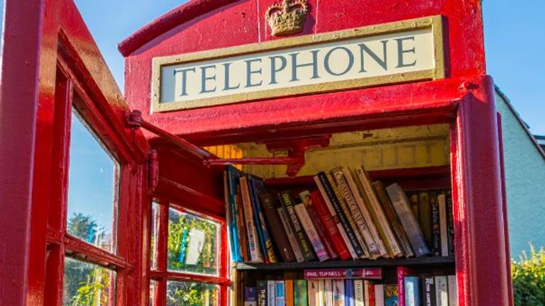 People have been turning the telephone boxes into mini-libraries and even cake shops