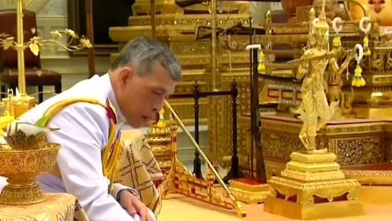 Thai King names consort ahead of coronation