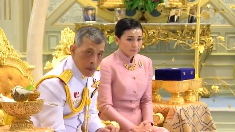 The 66 year old King married Suthida Vajiralongkorn Na Ayudhya and is she is now Queen Suthida