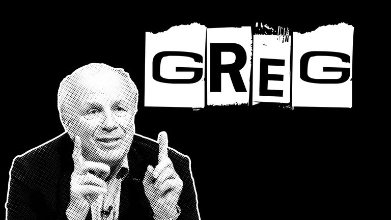 Greg Dyke graphic.