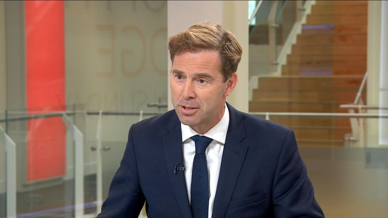 Defence minister Tobias Ellwood