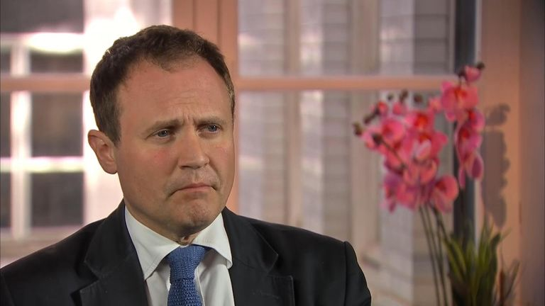 Chair of the Commons foreign affairs select committee Tom Tugendhat