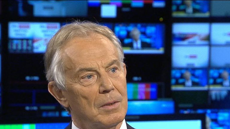 Tony Blair thinks the Tories would be 'insane' to call an election in the wake of Brexit Party success