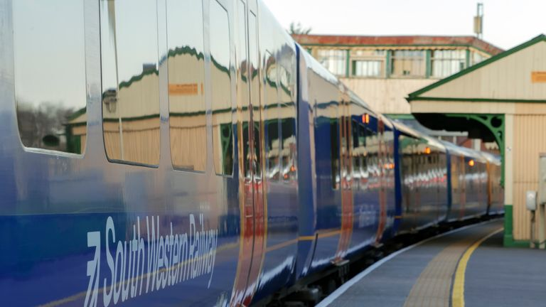 South Western Railway has apologised for the incident