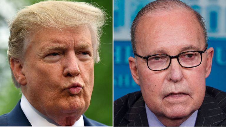 Larry Kudlow said 'both sides will pay' in the US-China trade war