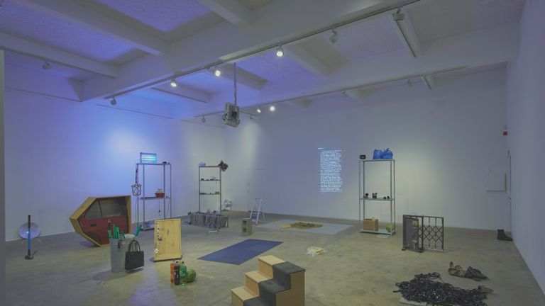 Turner Prize 2019 - Lawrence Abu Hamdan, installation view of Earwitness Inventory at Chisenhale Gallery, London 2018