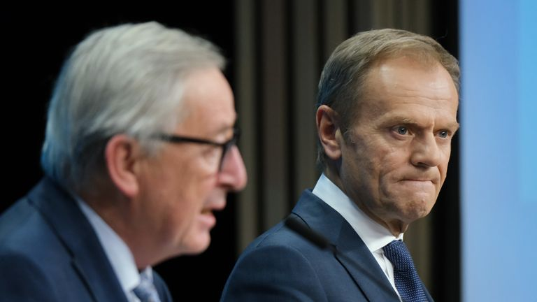 Jean-Claude Juncker and Donald Tusk step down this summer