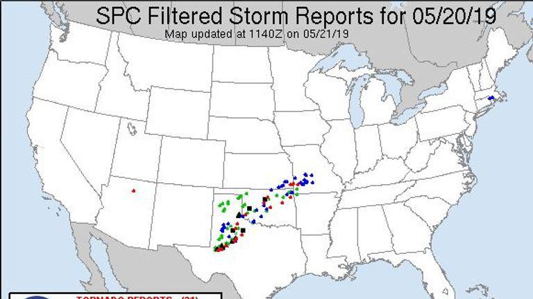 Tornado Reports