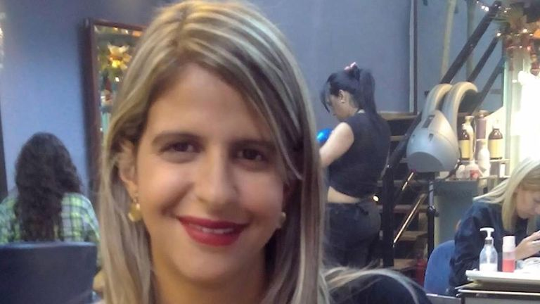Betzabeth Rausseo, 27, died in hospital after being shot in the throat by security forces in Caracas at the end of a day of protest