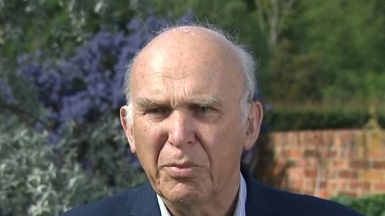 Sir Vince Cable says British politics needs rebuilding