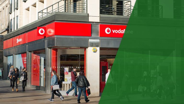 Vodafone cuts its dividend for shareholders earlier this month