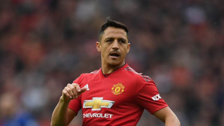 Patrice Evra questioned what was the real reason Alexis Sanchez joined Manchester United, in an interview with Sky Sports' Gary Neville