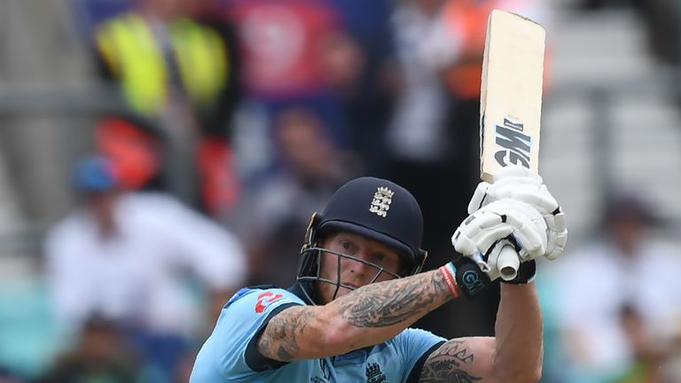 Watch the pick of the action as England open their World Cup account with a convincing victory over South Africa at The Oval