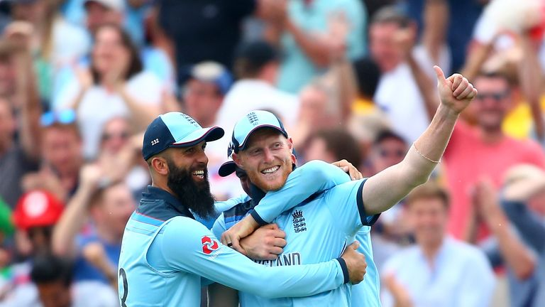 Watch England's run to the World Cup final, from Ben Stokes' incredible catch to a semi-final win over Australia