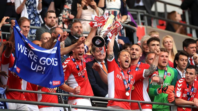 Charlton win League One play-off final