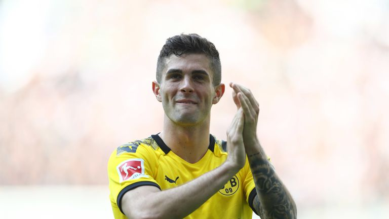 Christian Pulisic aspires to be as good for Chelsea as Eden Hazard, who he says has a 'similar style'