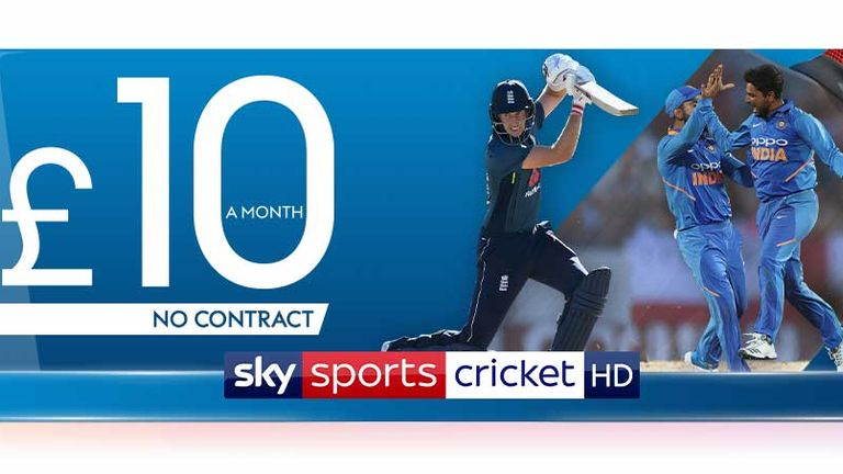 Don't miss the 2019 Cricket World Cup on Sky Sports!