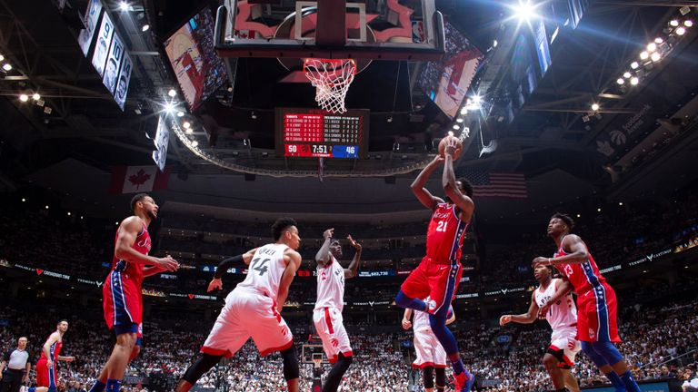 Highlights from the Toronto Raptors' dramatic 92-90 win over the Philadelphia 76ers in Game 7 of the Eastern Conference semi-finals