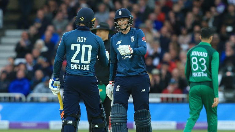 Highlights from Trent Bridge, where England claimed the series against Pakistan with a three-wicket win in the fourth ODI