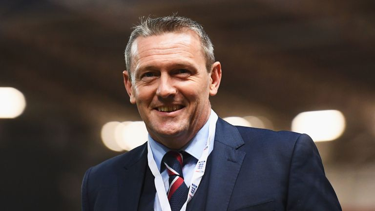 England U21 manager Aidy Boothroyd is comfortable with his side's status as one of the favourites heading into this month's European championships
