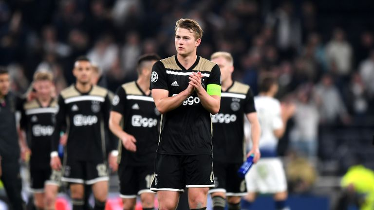 De Ligt arrives in Turin to undergo a medical with Juventus, ahead of transfer from Ajax