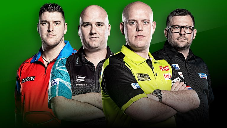Premier League Darts Semi-Finalists